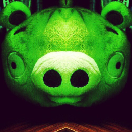 #badpiggies invade the office... | by Tama Leaver