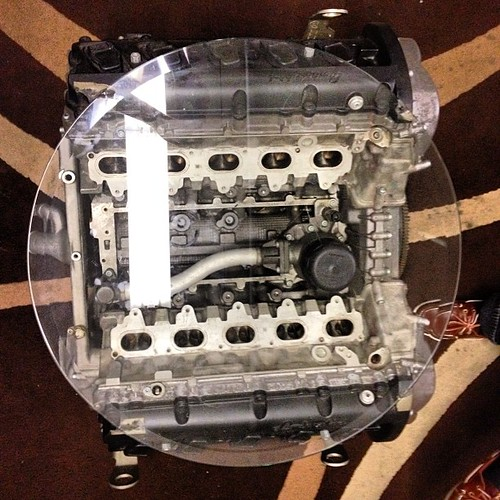 This Is A $270,000 Coffee Table. (the Engine Block Of A La