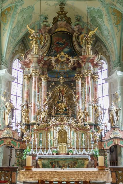 Altar - Wallfahrtskriche Maria Alm