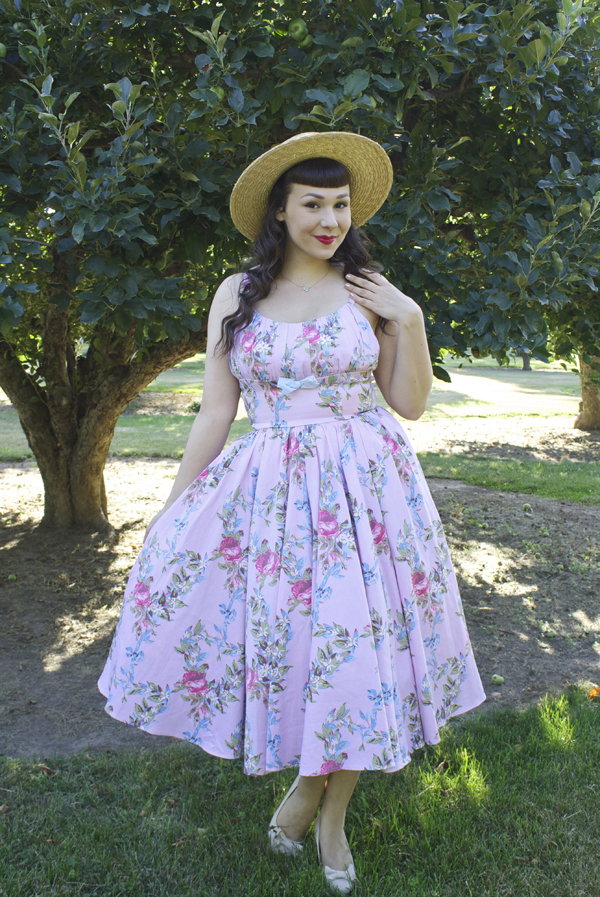 floral ribbon ella dress