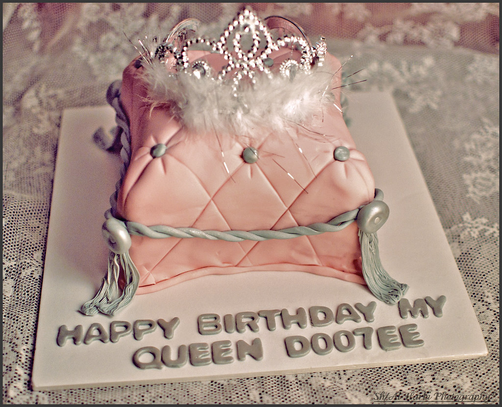 My Queens Birthday Cake