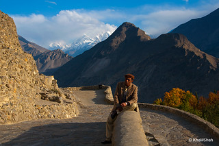 Security guard at baltit fort, karimabad. | by khalilshah