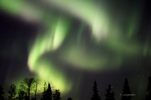 Aurora Borealis ~ Explored | by Sparkes.CA ~Off the grid!