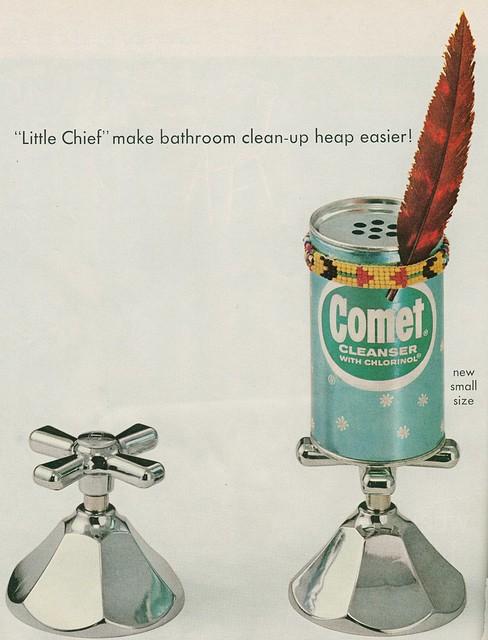 Comet injun ad