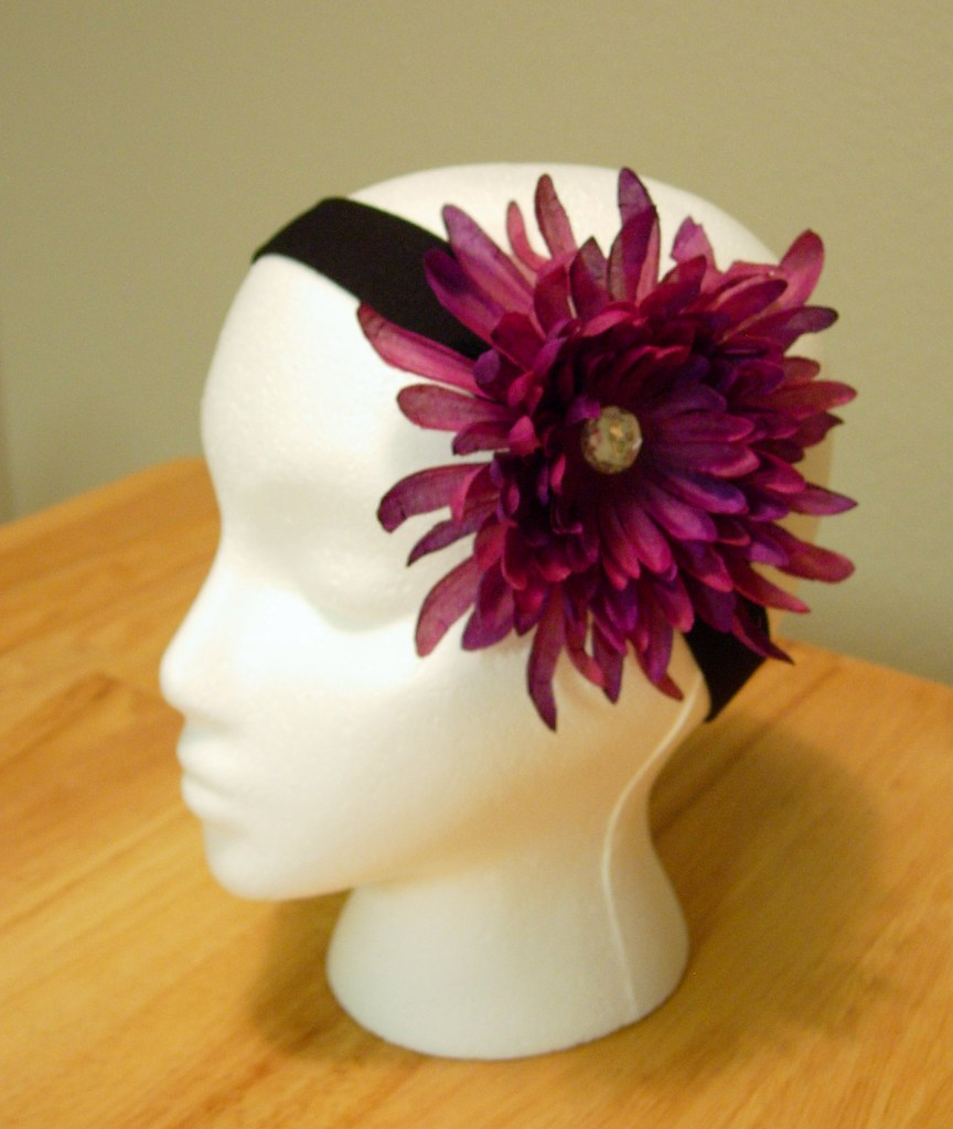 Purple Flower Headband You Can Visit My Etsy Shop At Angie Flickr