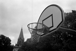 Shoot some hoops? (and a church) | by Henrik J Kugelfest