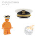 Officer Hat - White w/ US Navy