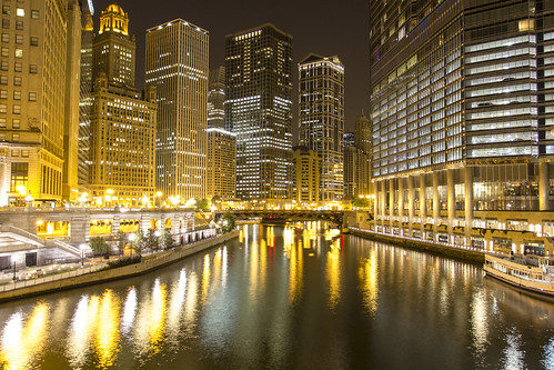 Chicago River at Night | by calum.hale