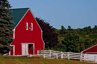 Red Barn ~ Cumberland | by Vicki Lund Photography