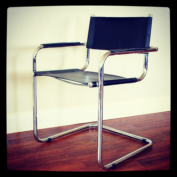 Mid Century Modern Furniture Chair: MOD STYLE CHAIR Vintage Mid Century Modern Furniture Canti