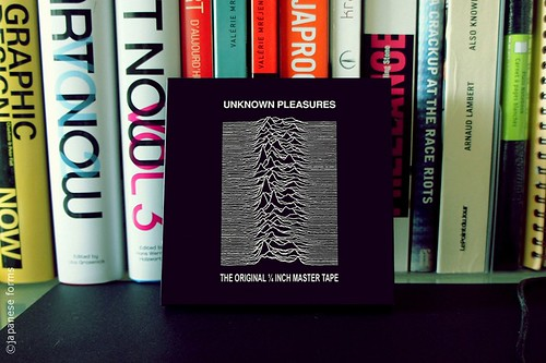 unknown pleasures : the original ¼ inch master tape | by japanese forms