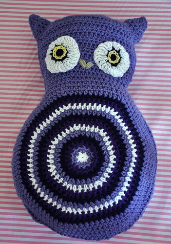 Crochet Owl Cushion | by House of Lane