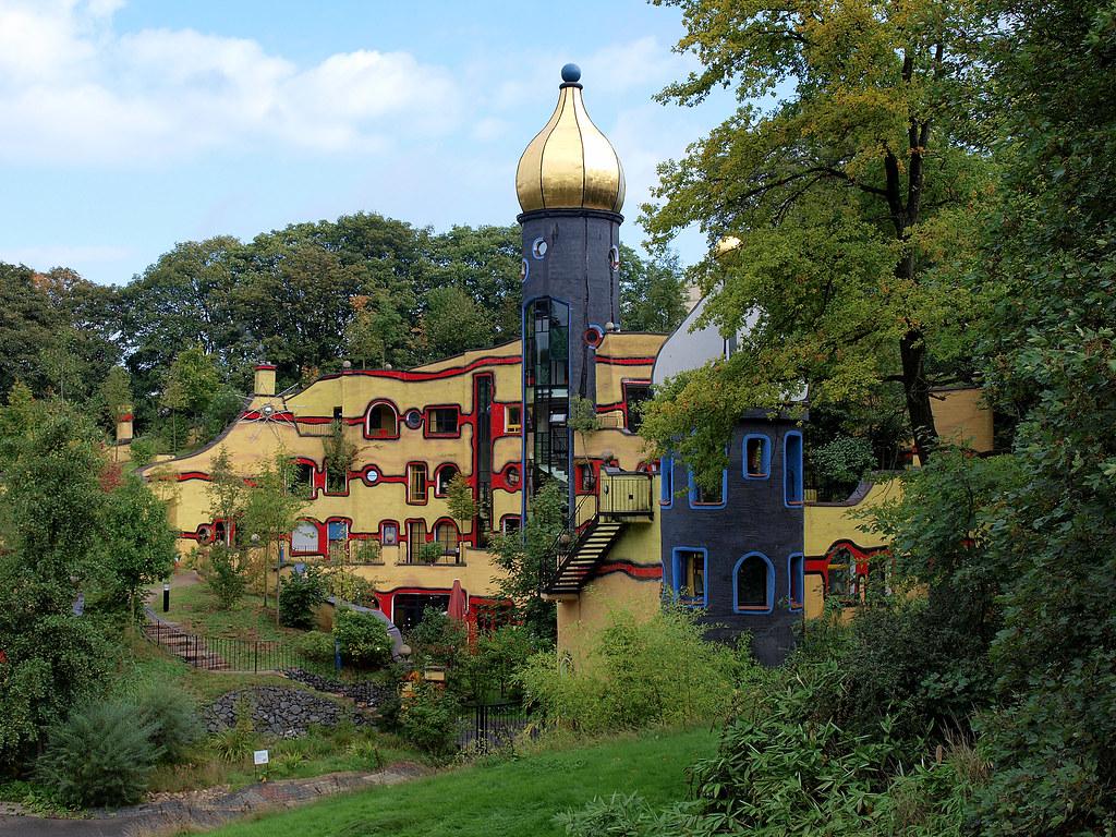 Hundertwasser in essen germany architekt - Architekt essen ...