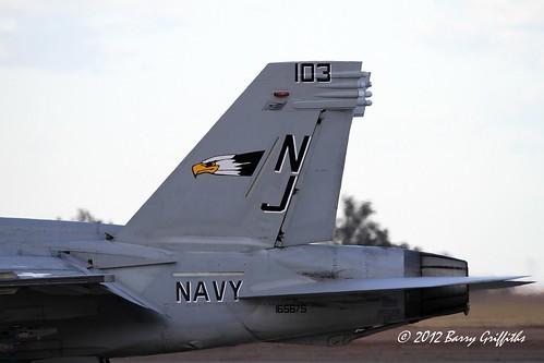 Boeing F A 18f Super Hornet Rhino Buno 165675 103 Colo