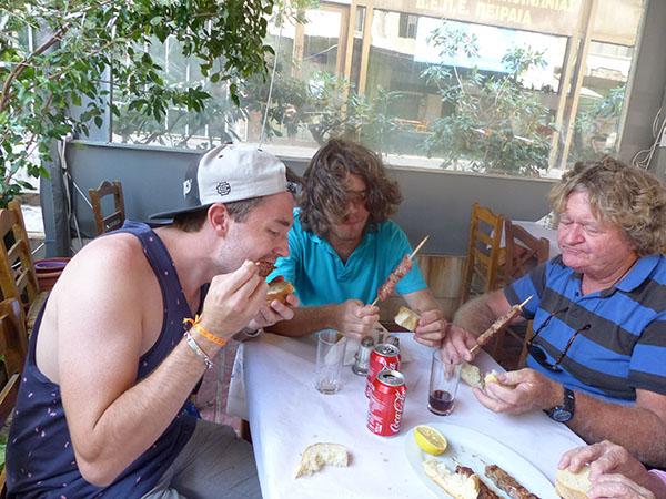 déjeuner au Pirée 2