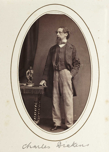 Charles Dickens, c.1865. | by National Science and Media Museum