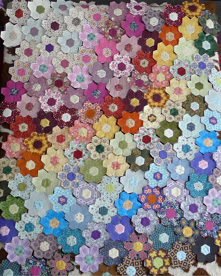 Hexagon Quilts Images Images