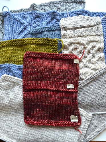 Sep6-Swatches | by crazyknittinglady