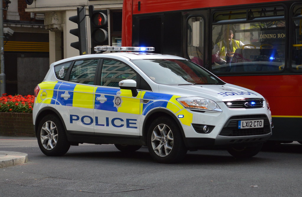 Picture Of A Police Car Uk