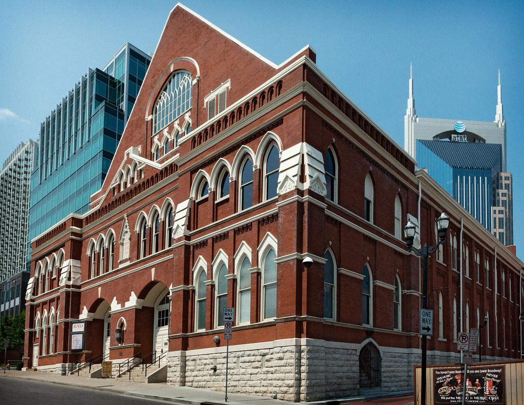Ryman Auditorium Union Gospel Tabernacle 1892 View 1 Flickr