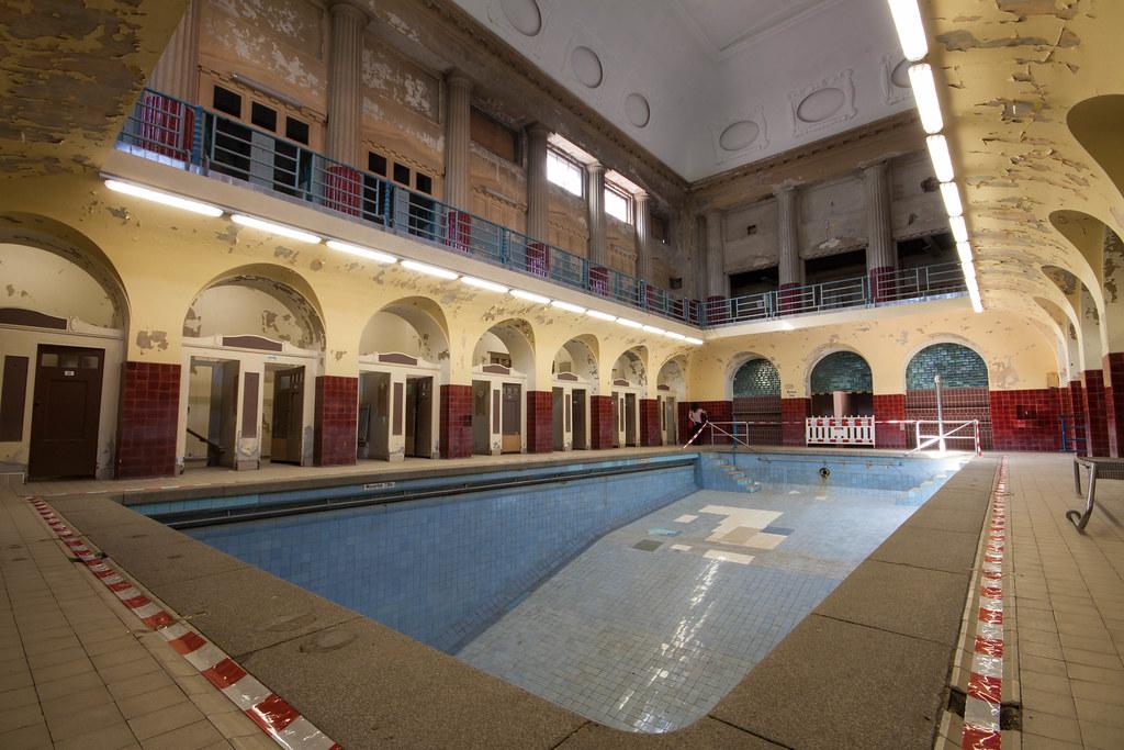 Stadtbad Leipzig Abandoned Bathhouse In Leipzig