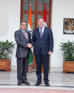 External Affairs Minister Shri S.M Krishna meeting with Minister of Foreign Affairs of Canada Mr. John Baird in New Delh (September 12, 2012) | by MEAphotogallery