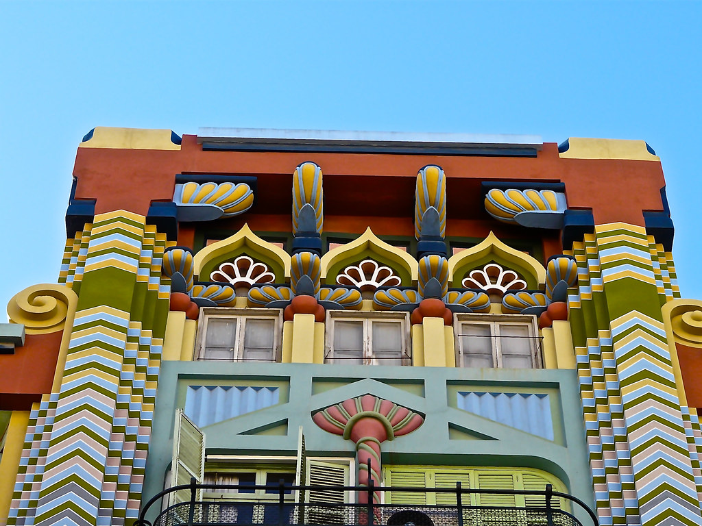 Casa egipcia conocida como casa jud a tambi n obra de ju for Decoracion casa judia