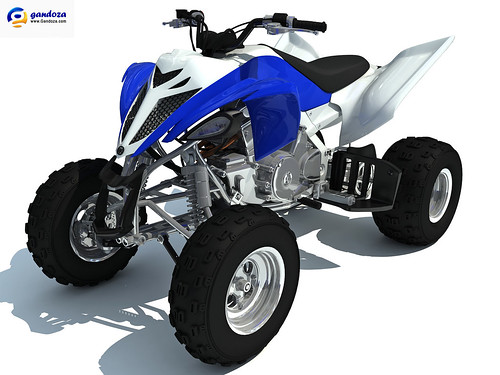 New Yamaha Raptor | by 3D Horse Models