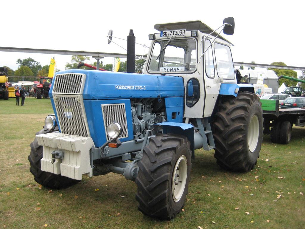 1978 universaltraktor fortschritt zt 303 c von veb traktor. Black Bedroom Furniture Sets. Home Design Ideas