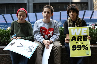 Boys at Occupy Wall Street | by WarmSleepy