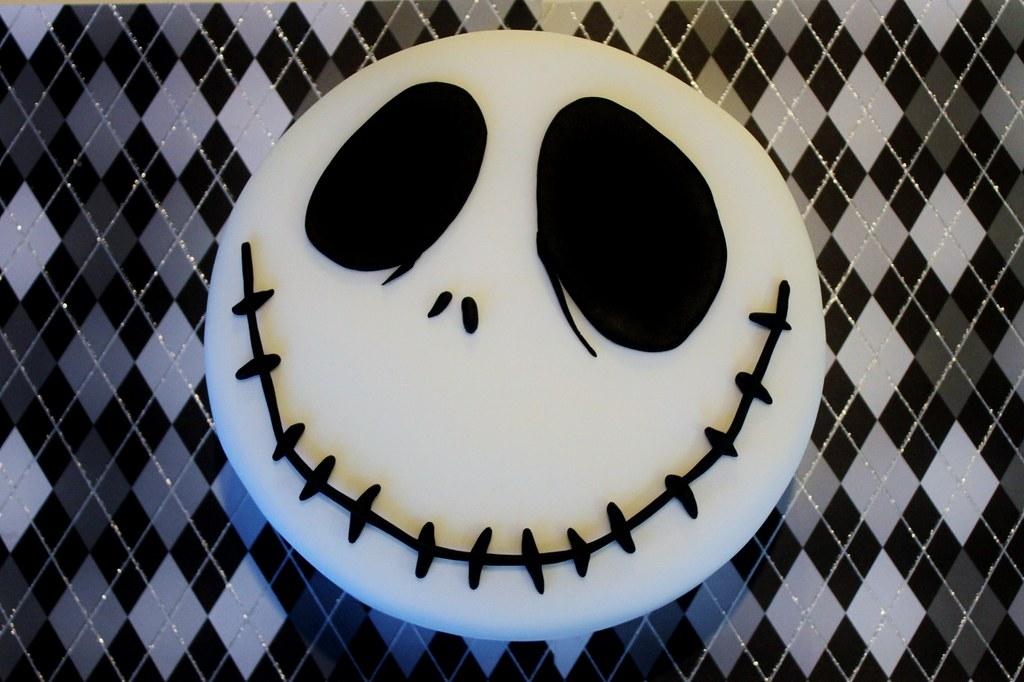 Jack Skellington Cake Nightmare Before Christmas Cake Flickr