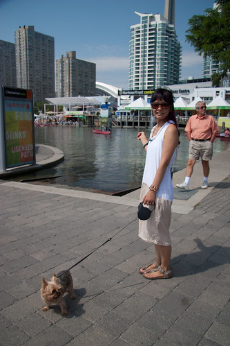 me & tan at harbourfront | by ceci cheung