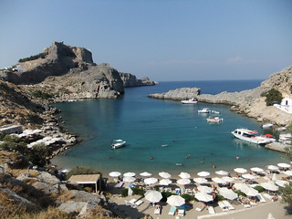 St Paul's Bay, Lindos | by exfordy