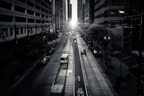 Sunset on Madison | by peteskiphoto