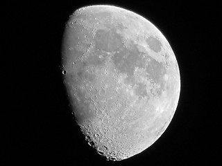 Waxing Gibbous Moon - September 24, 2012 | by spacemike