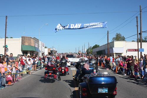 9-8-2012 SCRC 194 Harrah Frontier Day Parade and Harley's Cafe | by SCRC 194 by Edith Moffitt