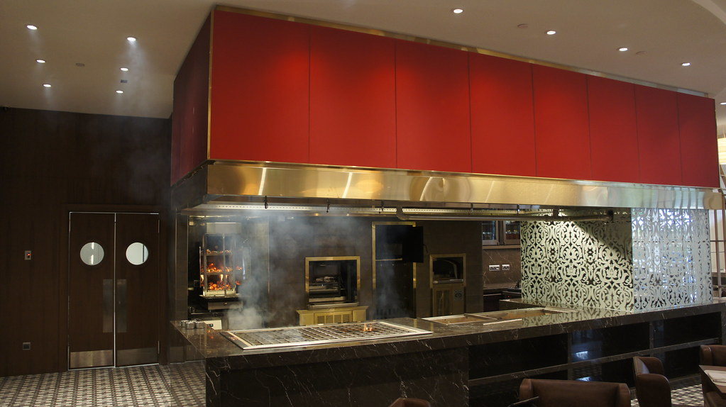 Beech Ovens Charcoal Pit Wood Fired Shawarma Rotisserie