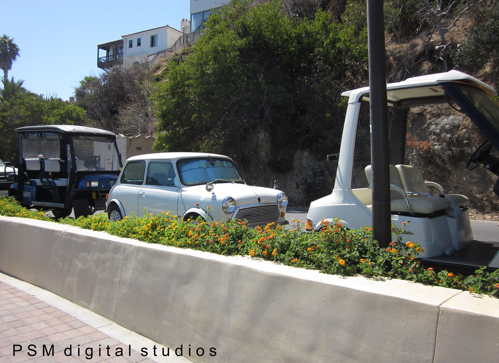 Catalina Island Trip Mini Cooper And Golf Carts Because Flickr