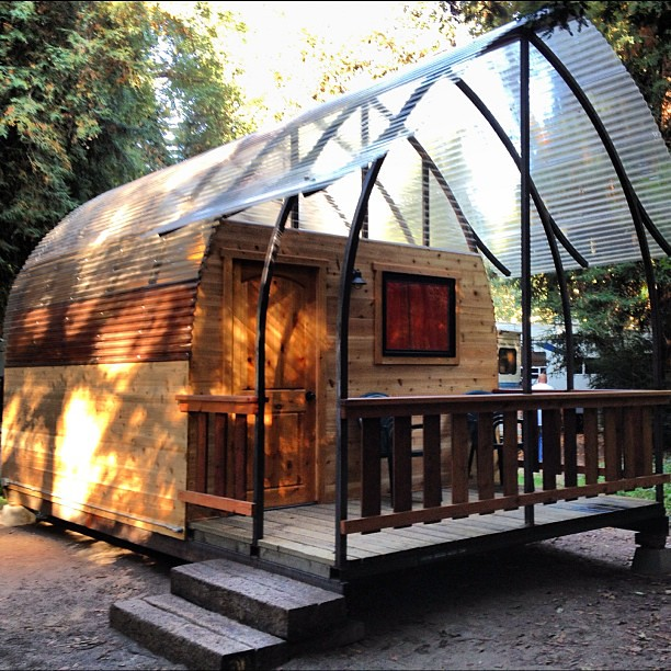 The new tent cabins at big sur campground are so cool y for Big sur campground and cabins