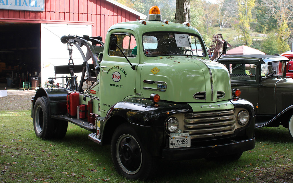 1948 Ford COE   Ford cab-over tow truck.   blazer8696   Flickr