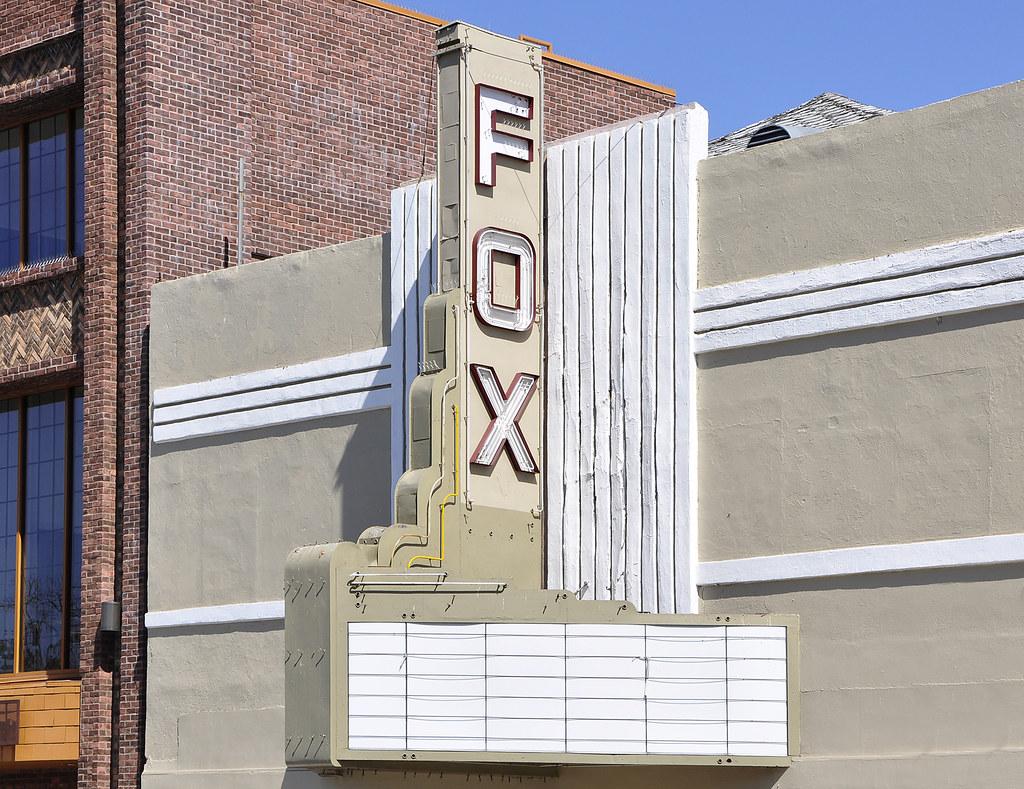 paso robles ca fox movie theater 1400 block of