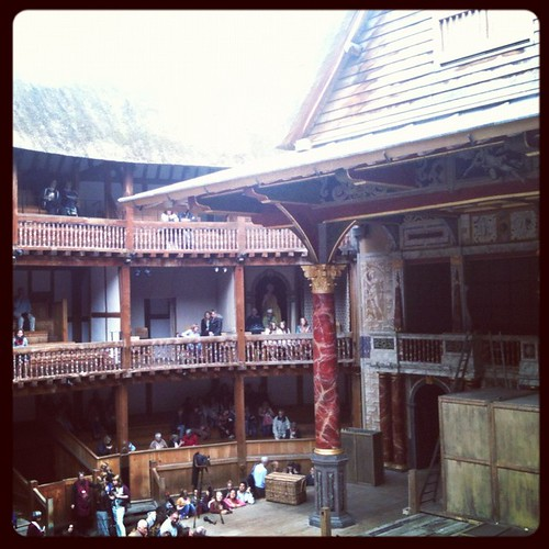 At The Globe. | by juliezryan