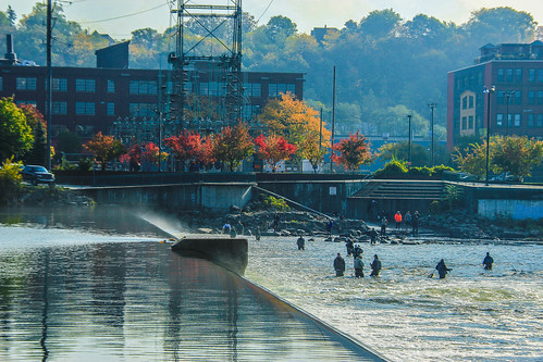 Grand Rapids fish ladder | by flickaway1