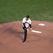 Alex Smith Throws Out The 1st Pitch