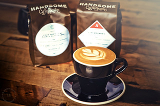 Handsome Roaster Cappuccino by Guest Barista Garland at Cafe Dulce Pop, Los Angeles | by r.e. ~