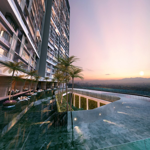 Bennington Residences - Panoramic Infinity Loop Pool