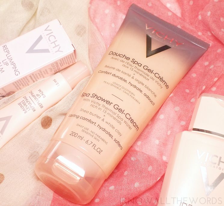 vichy ideal body spa shower gel cream