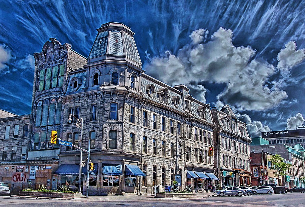 Guelph Ontario Canada Petrie Building Cutten Kelly B