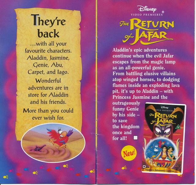 UK Disney VHS Catalogue (1995) | Flickr