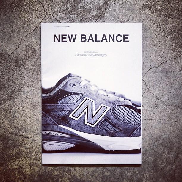 new balance book